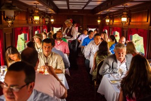 dinner train audience