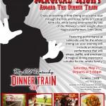 rj corman may dinner train
